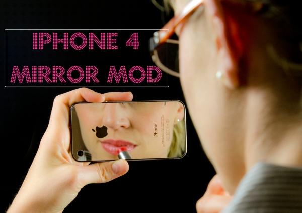 iFixit iPhone 4 Mirror Mod MelissaJenna