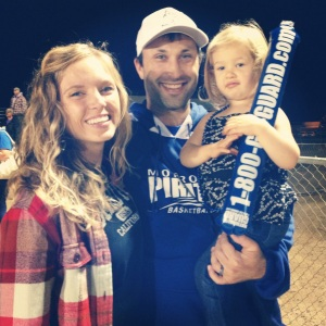 Godsey Family at Football Game