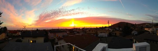Sunset in Morro Bay